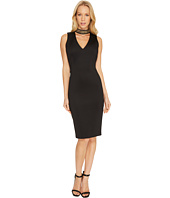Calvin Klein - Chain Neck with Front Cut Out Sheath Dress CD7M153M