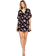 ROMEO & JULIET COUTURE - Floral V-Neck Dress