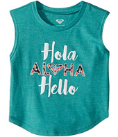 Roxy Kids - Hola Hello Muscle Tee (Toddler/Little Kids/Big Kids)