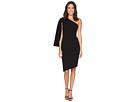 One Shoulder Split Sleeve Asymmetric Hem Dress CD7C193R