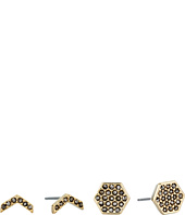 Vera Bradley - Whisper Links Hexagon Stud Earrings