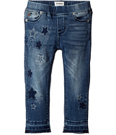 Hudson Kids - Stardust Skinny Jeans w/ Star Patches in Buffalo (Toddler/Little Kids)