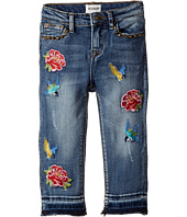 Hudson Kids - Freebird Girlfriend Ankle Jeans w/ Embroidery Patches and Studs in Hippie Heaven (Infant)