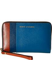 Marc Jacobs - Saffiano Color Blocked Zip Phone Wristlet
