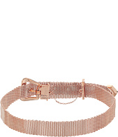 Betsey Johnson - Mesh Buckle Choker Necklace