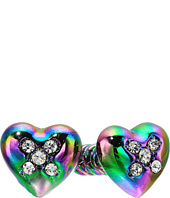 Betsey Johnson - Screw Front Back Earrings