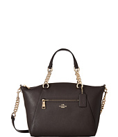 COACH - Polished Pebble Leather Chain Prairie Satchel