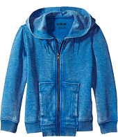 Hudson Kids - Burnout Zip Hoodie (Toddler/Little Kids/Big Kids)