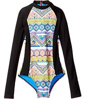 Hobie Kids - Desert Daze Zip Front Bodysuit (Big Kids)