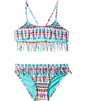Hobie Kids - Do or Tie-Dye Fringe Bralette and Fringe Hipster Set (Big Kids)