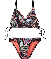 Hobie Kids - Part Your Swirl Lace Side Midkini and Strappy Hipster (Big Kids)