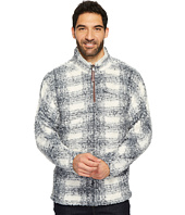 True Grit - Frosty Tipped Pile Big Plaid 1/4 Zip Pullover
