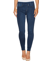 Liverpool - Sophia Pull-On Ankle with Seaming Detail in Silky Soft Stretch Denim in Helms Dark