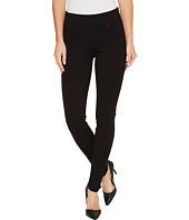Liverpool - Piper Hugger Pull-On Leggings in Silky Soft Ponte Knit with Lift and Shape Qualities in Black