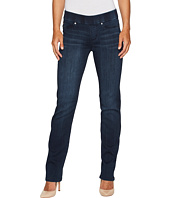 Liverpool - Jillian Straight Pull-On Jeans in Silky Soft Stretch Denim in Estrella Medium Dark