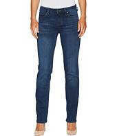 Liverpool - Sadie Straight Jeans in Silky Soft Stretch Denim in Helms Dark