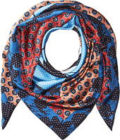 Echo Design - Cut Out Foulard Silk Square Scarf