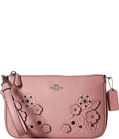 COACH - Tea Rose Tooling with Applique Tooling Nolita Wristlet 22