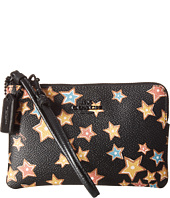 COACH - Small Wristlet In Starlight Print Coated Canvas