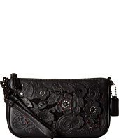 COACH - Tea Rose Tooling with Applique Tooling Nolita Wristlet 19