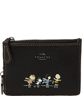 COACH - Box Program Snoopy Mini ID Skinny