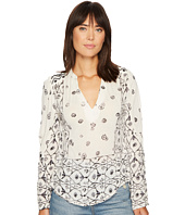 Lucky Brand - Mix Geo Peasant Top