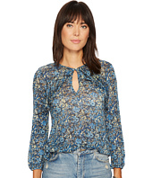 Lucky Brand - Floral Ruffle Top