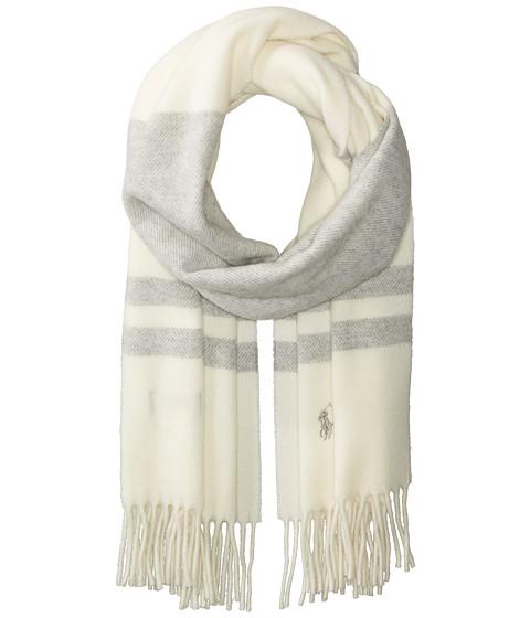 Polo Ralph Lauren Wool Blanket Stripe Scarf