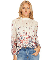 Lucky Brand - Floral Mixed Print Top
