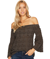 Lucky Brand - Washed Off the Shoulder Top