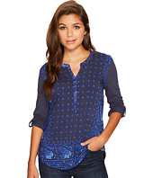 Lucky Brand - Printed Henley