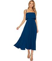 JILL JILL STUART - Pleated Popover Midi Dress