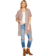 Lucky Brand - Fringe Poncho Sweater