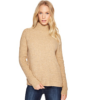 Blank NYC - Slit On Back Camel Turtleneck in Atomic Tan