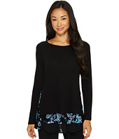 Karen Kane - Embroidered Inset Sweater