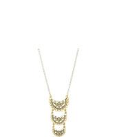Lucky Brand - Openwork Three Tier Pendant Necklace
