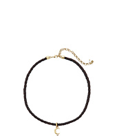 Lucky Brand - Moon Leather Choker Necklace