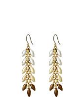 Lucky Brand - Leaf Linear Earrings