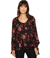 Karen Kane - Embroidered Tassel Sleeve Top