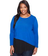 Karen Kane Plus - Plus Size Combo Hem Sweater