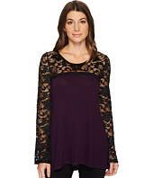 Karen Kane - Lace Sleeve Sweater