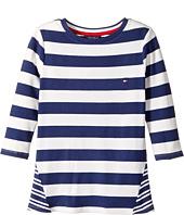 Tommy Hilfiger Kids - Stripe Rib Top (Big Kids)