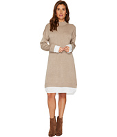 Calvin Klein - Sweater Dress with Shirting