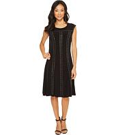 Calvin Klein - A-Line Dress with Studs