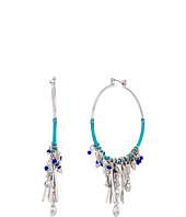 Rebecca Minkoff - Gemma Charm Hoop Earrings