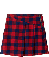 Tommy Hilfiger Kids - Plaid Zipper Skirt (Big Kids)