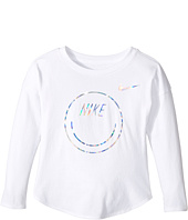 Nike Kids - Smiley Modern Long Sleeve Tee (Toddler)