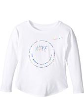 Nike Kids - Smiley Modern Long Sleeve Tee (Toddler)