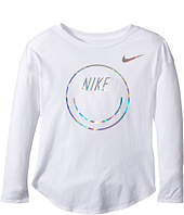 Nike Kids - Smiley Modern Long Sleeve Tee (Little Kids)