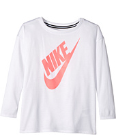 Nike Kids - Sportswear Essential Long Sleeve Top (Toddler)